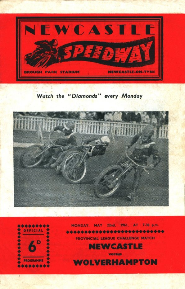 First speedway programme since closure in 1951